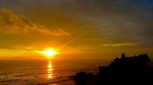 Sunset At Tanah Lot, Bali