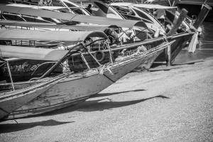 Boats Lined Up Phuket